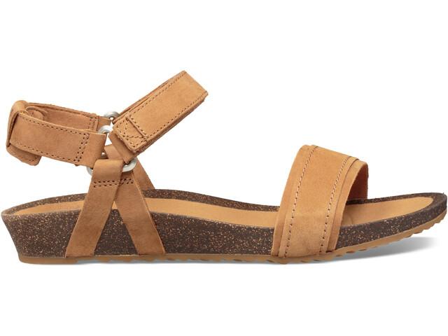 Teva Mahonia Stitch Sandals Women chipmunk